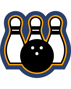 Bowling Sleeve Patch