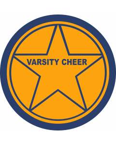 Star in Circle Sleeve Patch