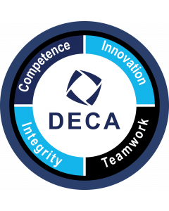 DECA Shield Sleeve Patch