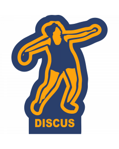 DISCUSF - Discus-Female Sleeve Patch