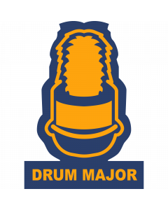 Drum Major Sleeve Patch