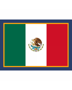 FLGMEX - Flag of Mexico Sleeve Patch