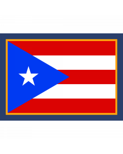 Flag of Puerto Rico Sleeve Patch