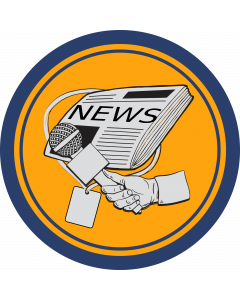 Journalism Sleeve Patch