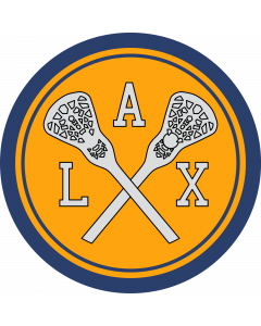 LAX - Lacrosse Sleeve Patch