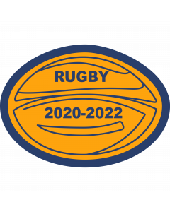 Rugby Ball Sleeve Patch