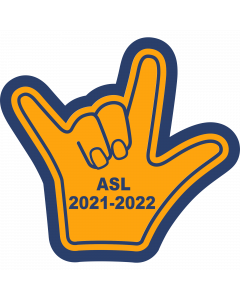 ASL Sleeve Patch