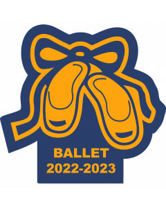 Ballet Slippers Sleeve Patch