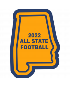 State of Alabama Sleeve Patch