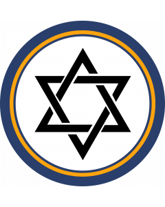 Star of David Sleeve Patch