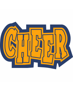 Cheer Sleeve Patch