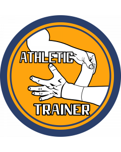 Athletic Trainer-2 Sleeve Patch