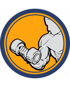 Weightlifting Sleeve Patch