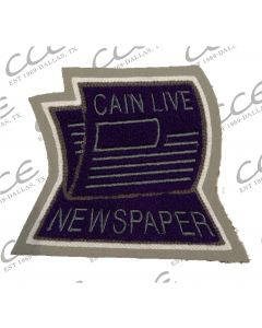 Klein Cain Newspaper Sleeve Patch
