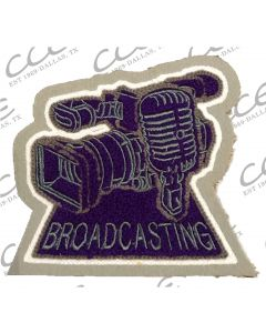 Klein Cain Broadcasting Sleeve Patch