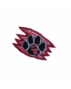 Colleyville Heritage Paw/Claw Marks Sleeve Mascot