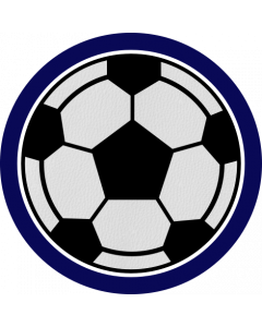 RFSCRB - Real Feel Soccer Ball Sleeve Patch