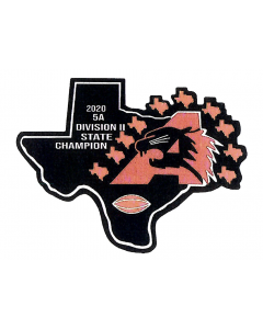Aledo 2020 5A Division II State Champion Football Patch