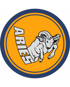 Aries Sleeve Patch