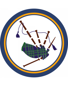 Bag Pipes Sleeve Patch