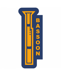 BSSON - Bassoon Sleeve Patch