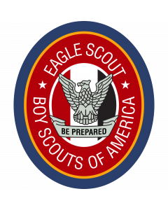 EAGSCT - Eagle Scout Sleeve Patch