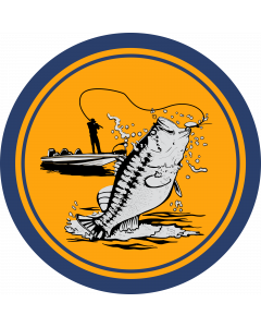 Fishing Sleeve Patch
