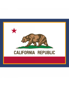 Flag of California Sleeve Patch