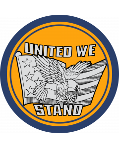 United We Stand Sleeve Patch
