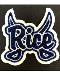 Rice Consolidated Rice w/Sabres Mascot